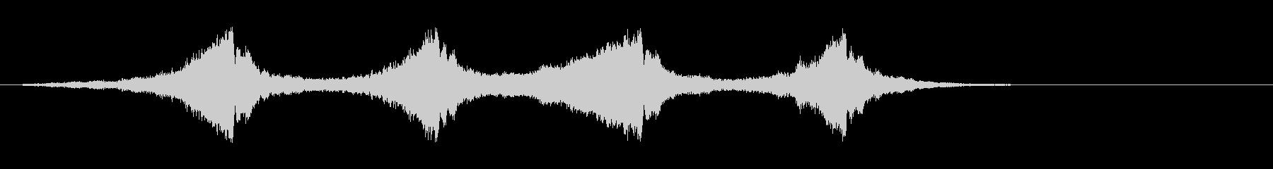 ホラー サスペンスなどの効果音に #16の未再生の波形