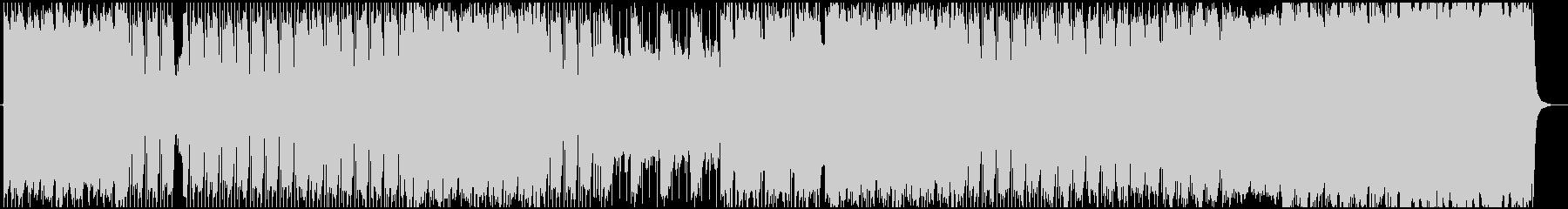 ギターリフ系のミドルテンポのヘビーロックの未再生の波形