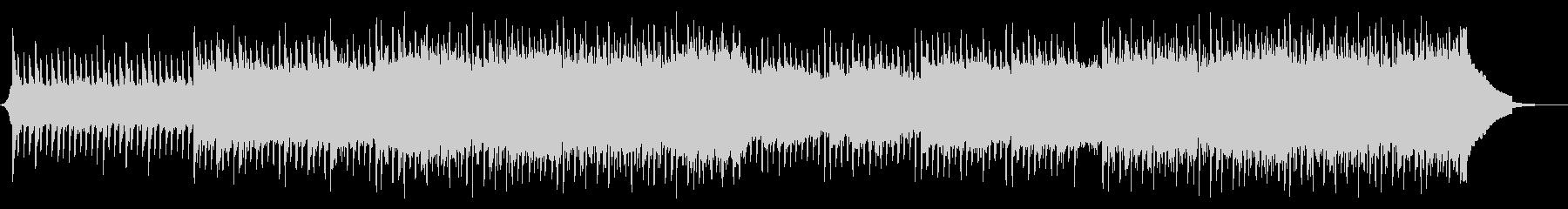 爽やかで明るいコーポレートBGMの未再生の波形