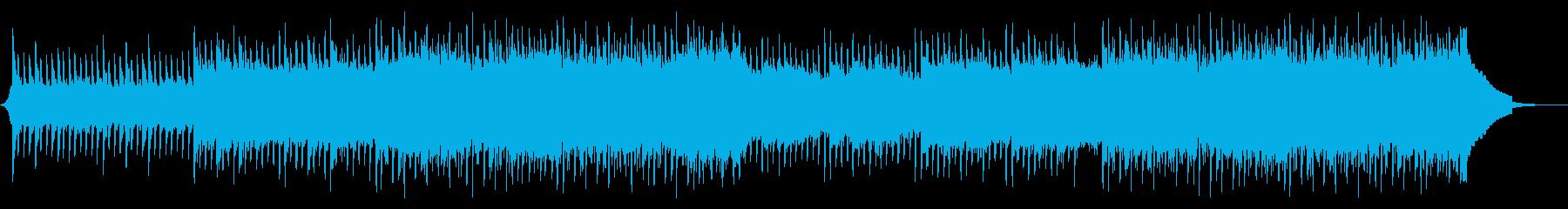 爽やかで明るいコーポレートBGMの再生済みの波形
