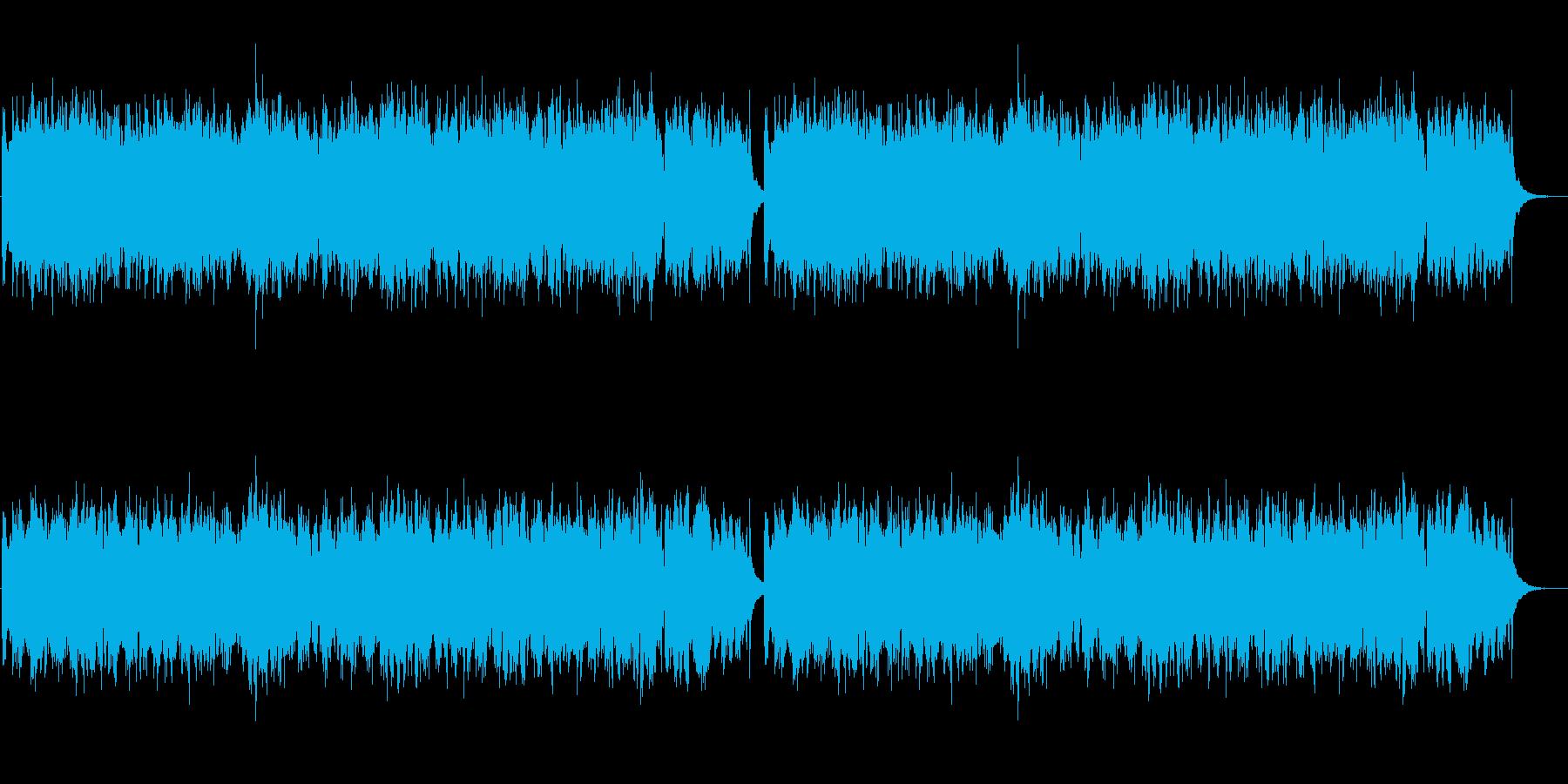アコーディオンが印象的な悲しげなジングルの再生済みの波形