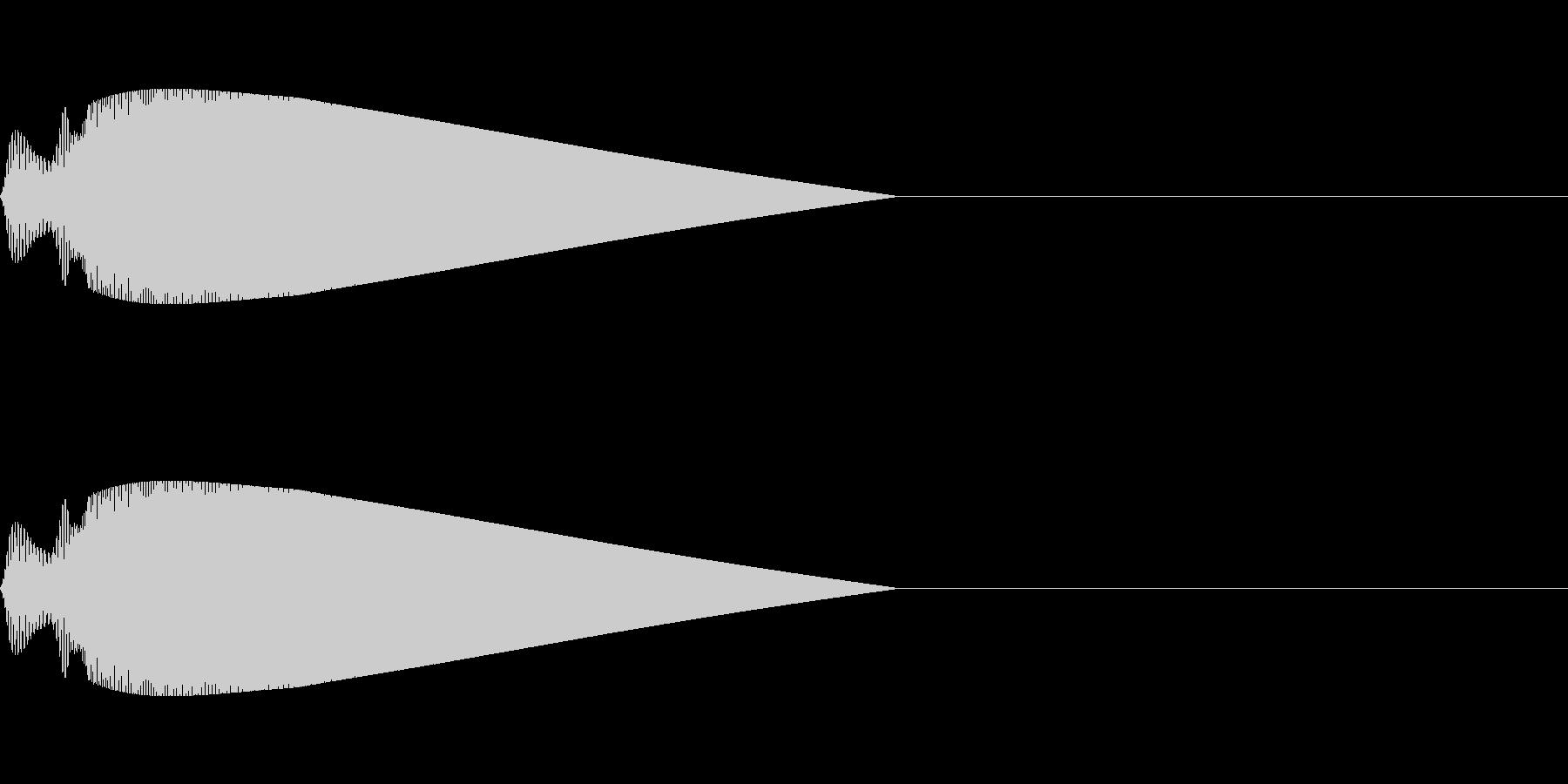 【ピヨーン】ファミコン系ジャンプ音_01の未再生の波形