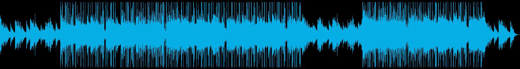 シンセの音色が心地よいチルトラック♪の再生済みの波形