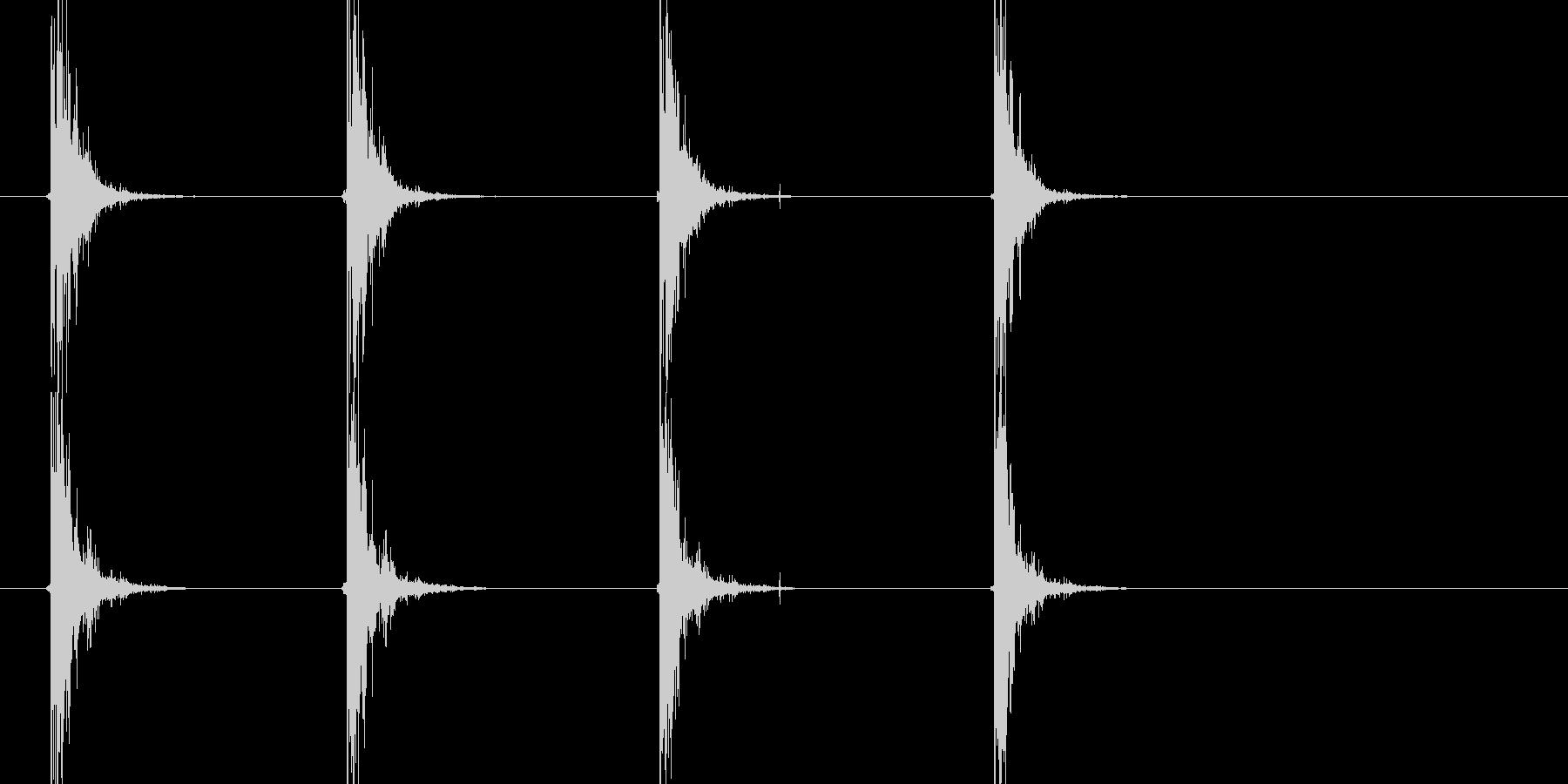 .38リボルバー:シングルショット...の未再生の波形
