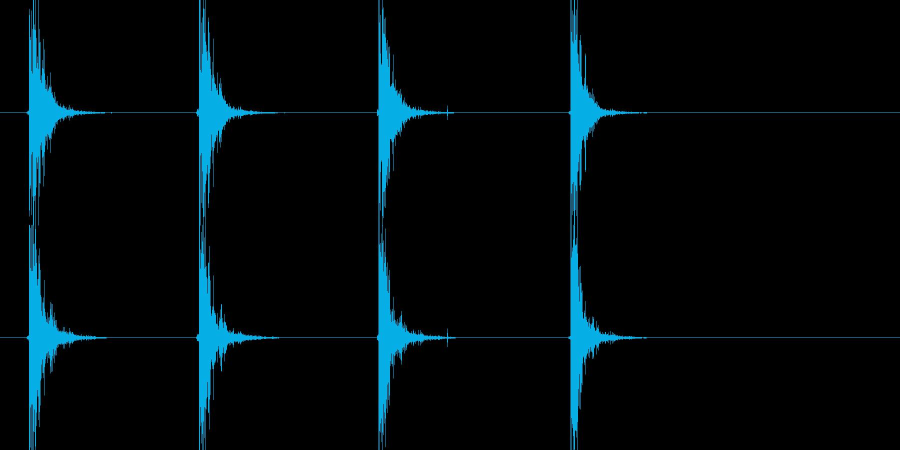 .38リボルバー:シングルショット...の再生済みの波形