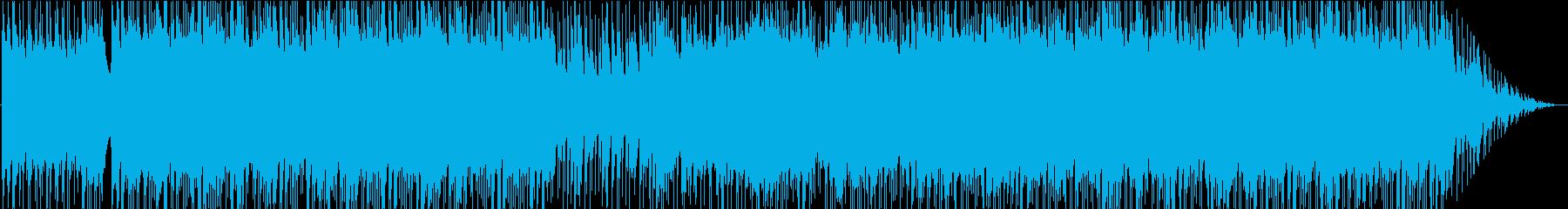 シリアスなバトル曲、クリスタルなイメージの再生済みの波形