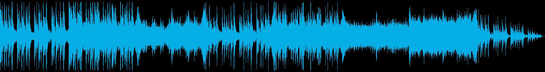 不気味なホラー曲 ストリングと木管系の再生済みの波形