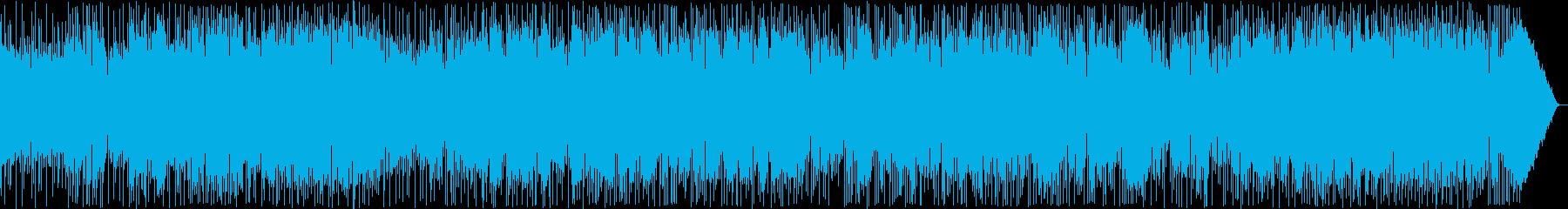 しっとり感のシンセ・ギターボサノヴァ系の再生済みの波形