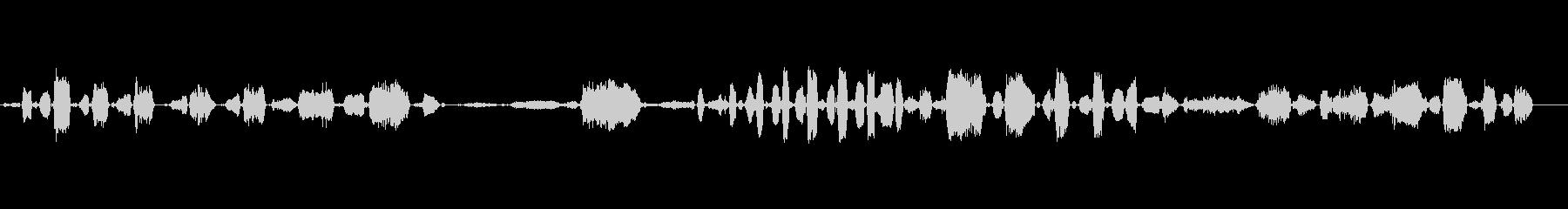 C.U.ブレイ、アニマルの未再生の波形