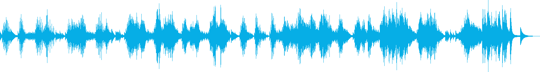 深く傷ついた心 (ピアノバラード)の再生済みの波形