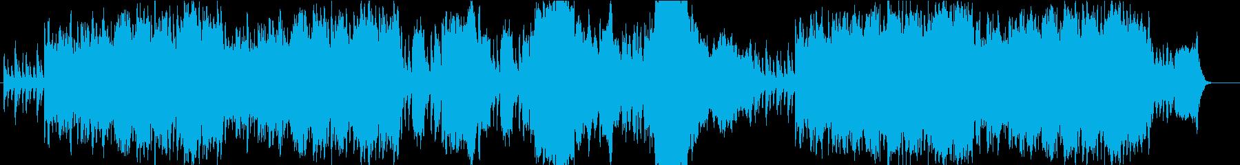 朗らかで牧歌的なオーケストラサウンドの再生済みの波形