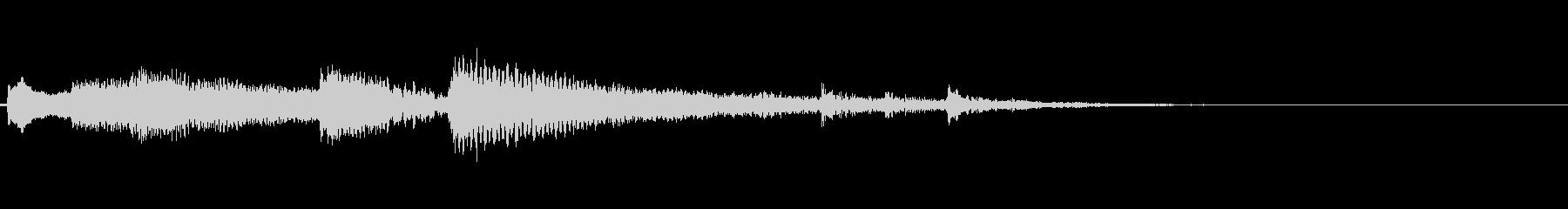 ナイロンギターのアイキャッチ(爽やか)の未再生の波形