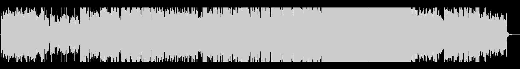 ファンタジー系の切ない主題歌の未再生の波形