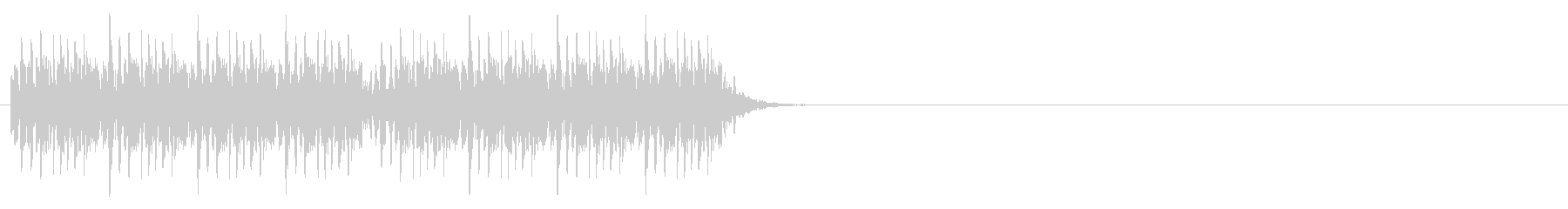 強いノイズ音の未再生の波形