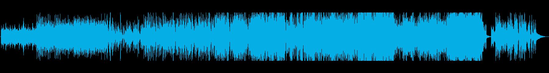 雅楽っぽい雰囲気 移り変わる奇妙な音楽の再生済みの波形