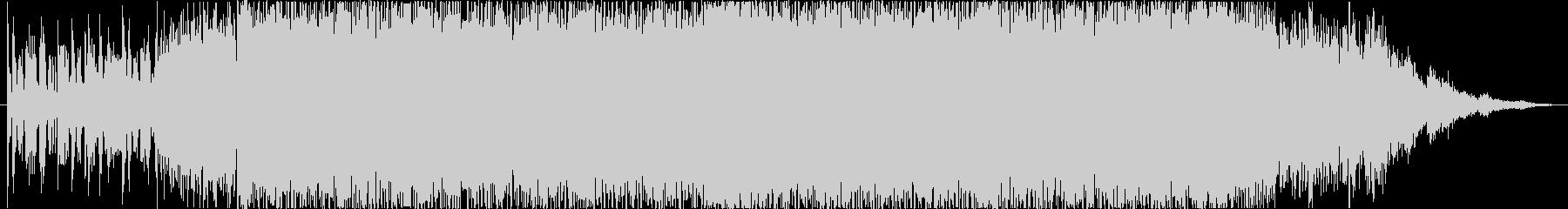 ノイジー、攻撃的なEDM の未再生の波形