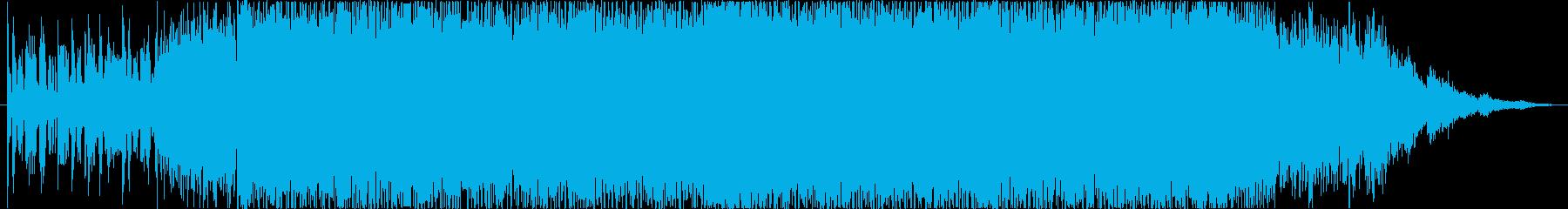ノイジー、攻撃的なEDM の再生済みの波形
