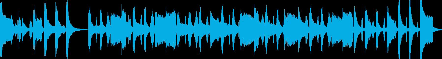 お座敷遊び歌の再生済みの波形
