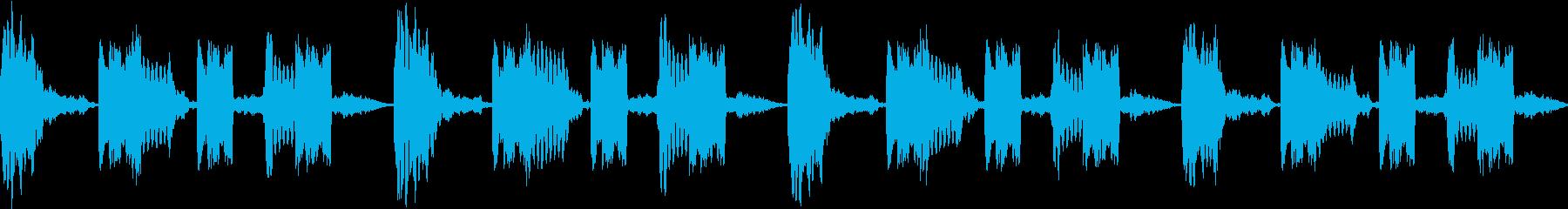サイレン siren 警報 アラート 7の再生済みの波形