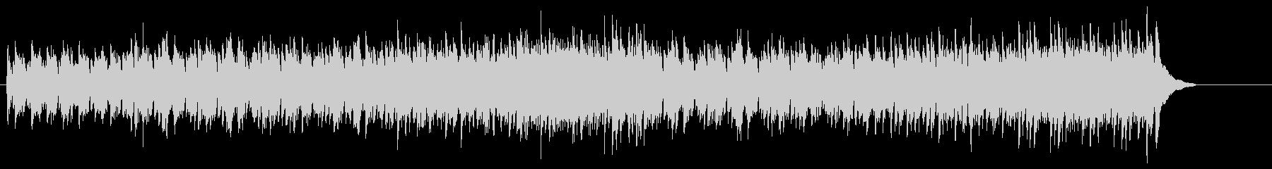 楽しい外国民謡調フォーク・ソングの未再生の波形