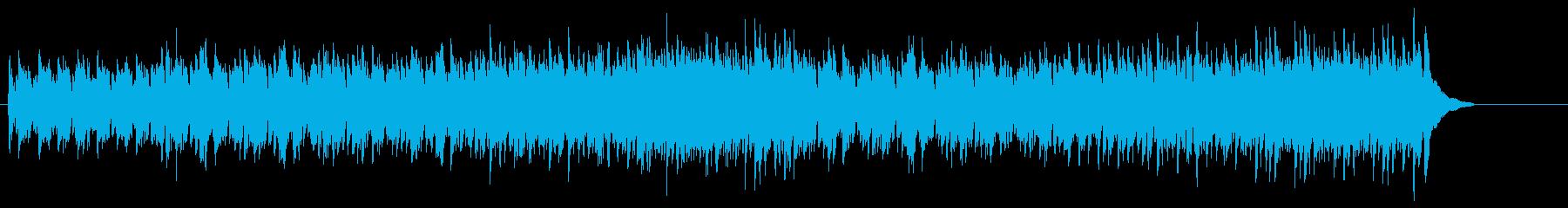 楽しい外国民謡調フォーク・ソングの再生済みの波形