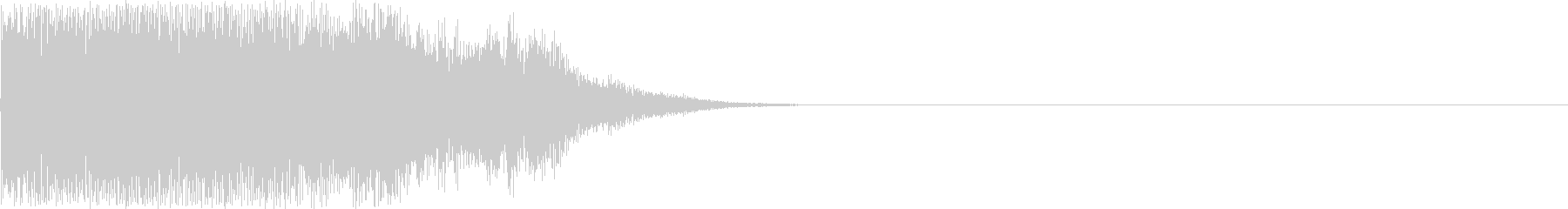決定・タッチ・スタート音・ボタン・取得の未再生の波形