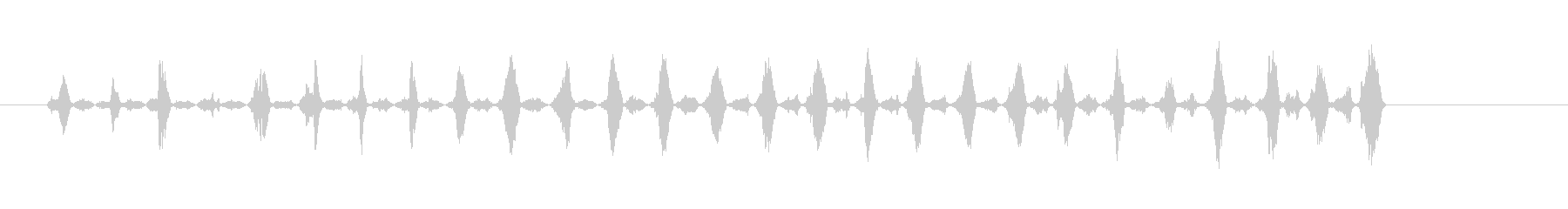 サンディングウッド2の未再生の波形