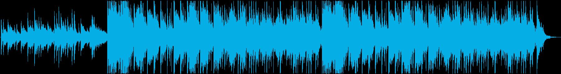 静かで優しい心温まるサウンドの再生済みの波形