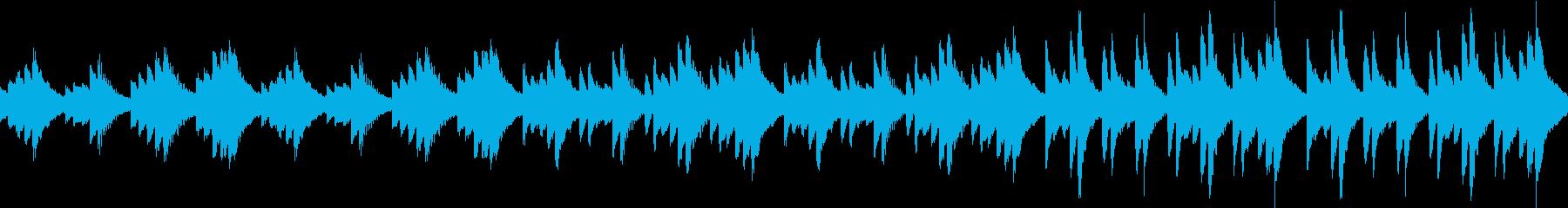 ほのぼの(ループ仕様)の再生済みの波形