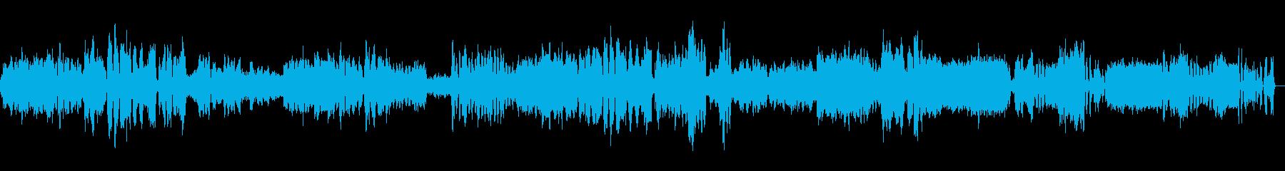 ベートーベン弦楽四重奏第15番第5楽章の再生済みの波形