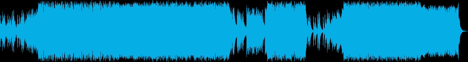 感動的・自然・癒し・壮大・BGMの再生済みの波形