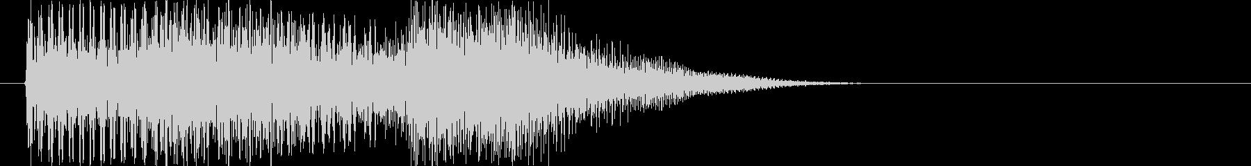 テロリラン_低音(スロットでの確定音)の未再生の波形