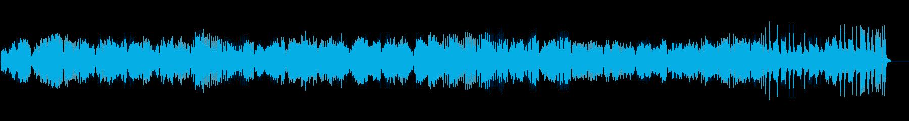 モーツァルト作曲のピアノが爽快な曲の再生済みの波形