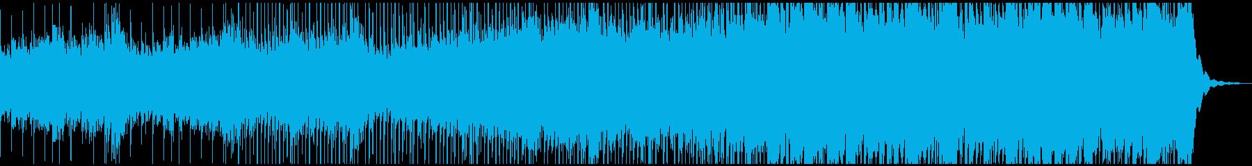 ループ可、シリアス、低音ビートとシンセの再生済みの波形