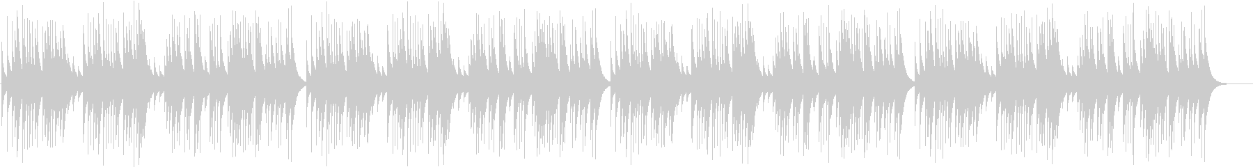 儚さを感じるクラシック曲【オルゴール】の未再生の波形