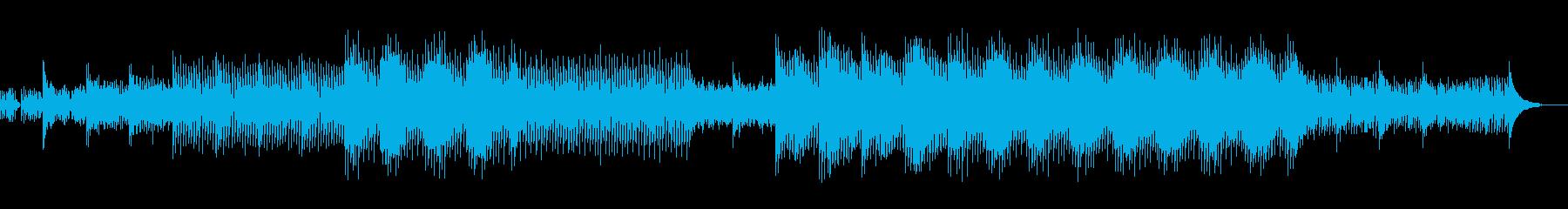 就寝前のヒーリング系アンビエントEDMの再生済みの波形