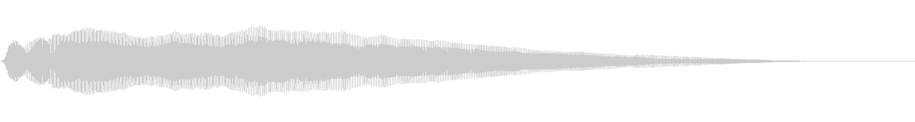 ニャーン 猫の鳴き声(甘える)の未再生の波形