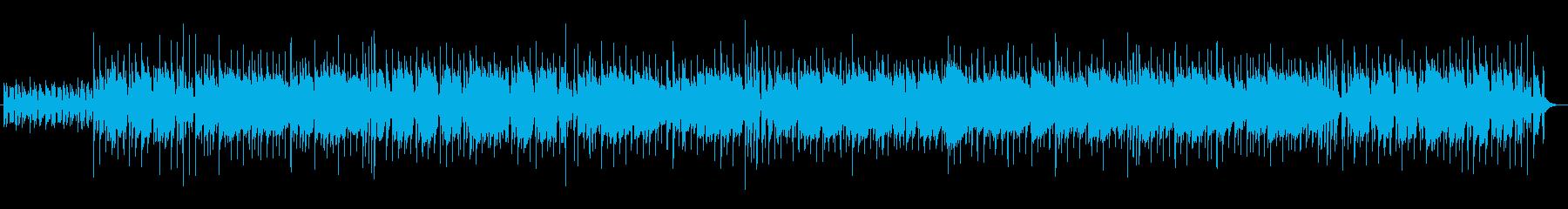 ピアノリフが印象的な都会的ポップの再生済みの波形