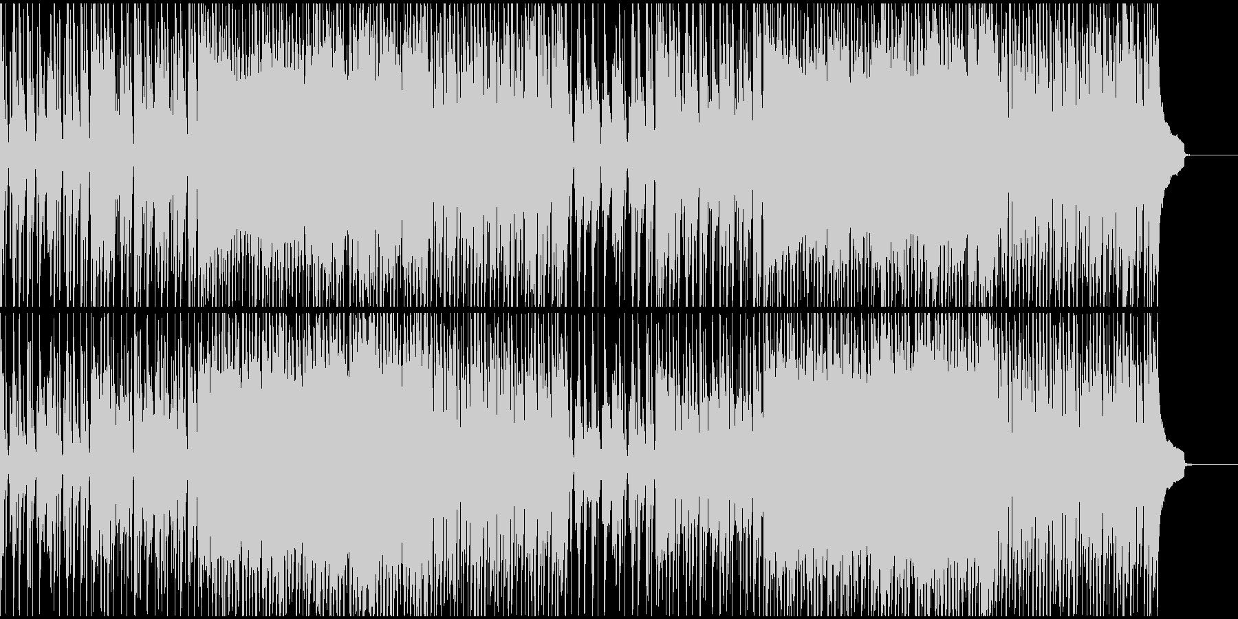 ピアノとストリングスのミュージカルソングの未再生の波形