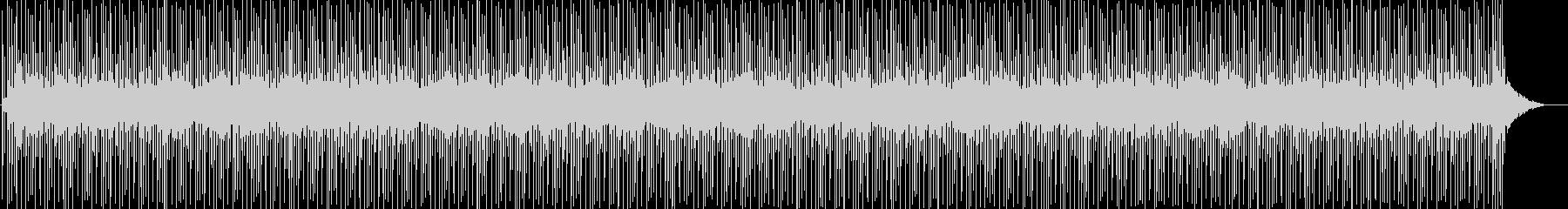 カワイイ系リズムパターンの未再生の波形