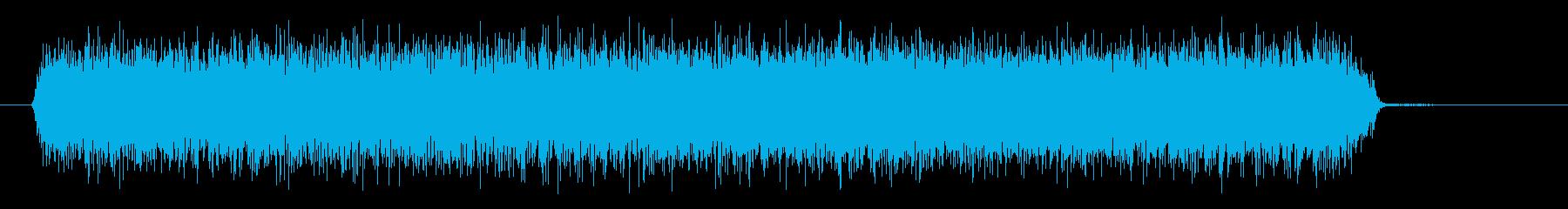スプレー、シューの再生済みの波形