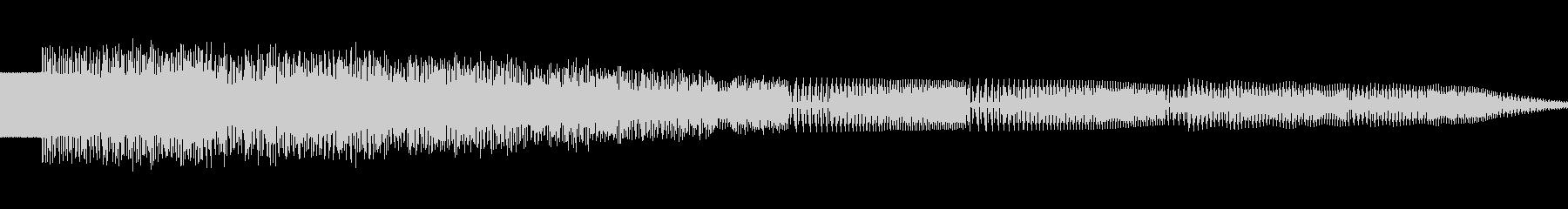 ポロロ(ピコピコ/ワープ/異次元の未再生の波形