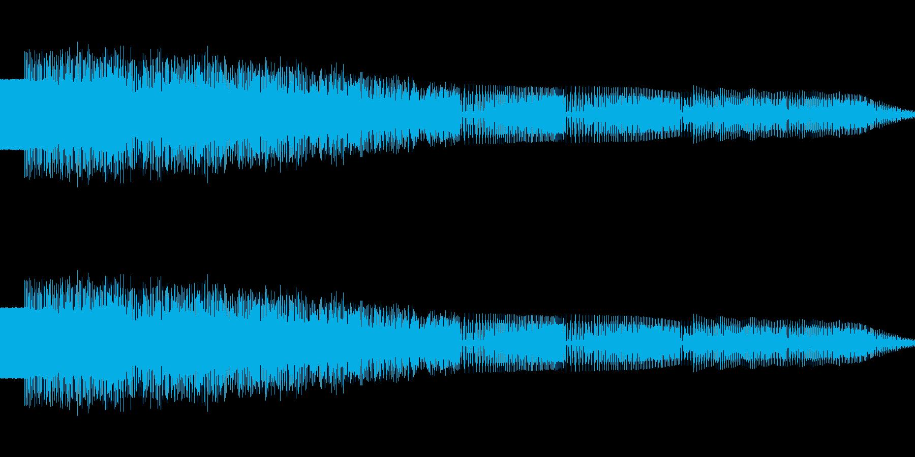 ポロロ(ピコピコ/ワープ/異次元の再生済みの波形