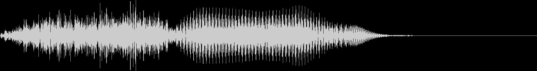 中国語 10    シューの未再生の波形