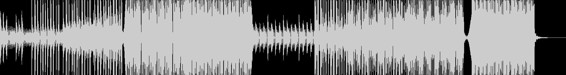 爽やかで洋楽的なエレクトロポップの未再生の波形