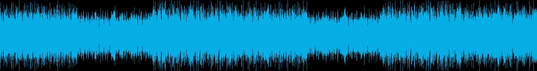 ダーク琴エレクトロ/ループの再生済みの波形