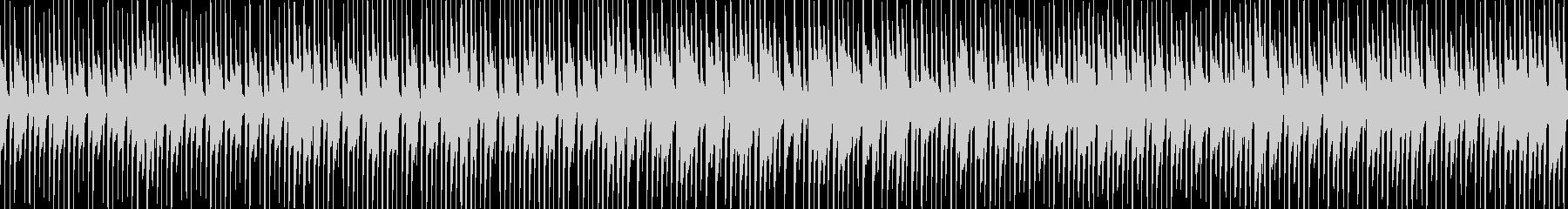日常のシュチュエーション曲2の未再生の波形