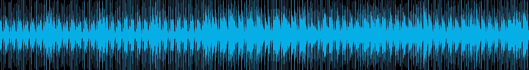 日常のシュチュエーション曲2の再生済みの波形