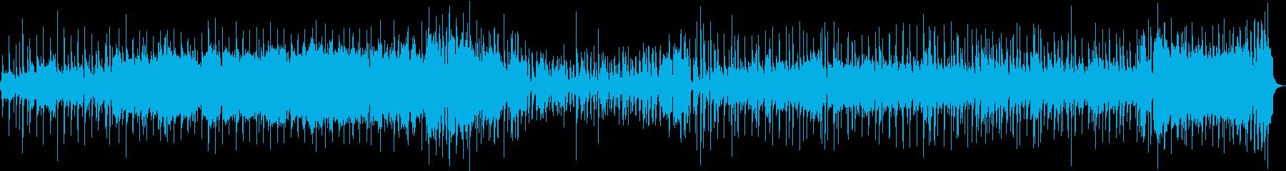 大空を飛び回るスケールの大きな曲 生演奏の再生済みの波形