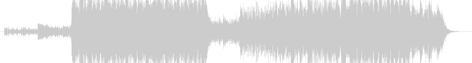スタイリッシュなドラムンベースの未再生の波形